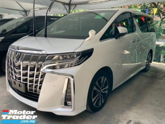 2019 TOYOTA ALPHARD 2.5 SC Sunroof 3 LED Surround camera power boot Facelift Grade A car Unregistered
