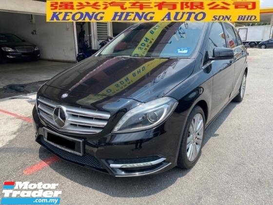 2013 MERCEDES-BENZ B-CLASS B200 1.6 CBU (Free 2 Years Car Warranty) Reg 2013