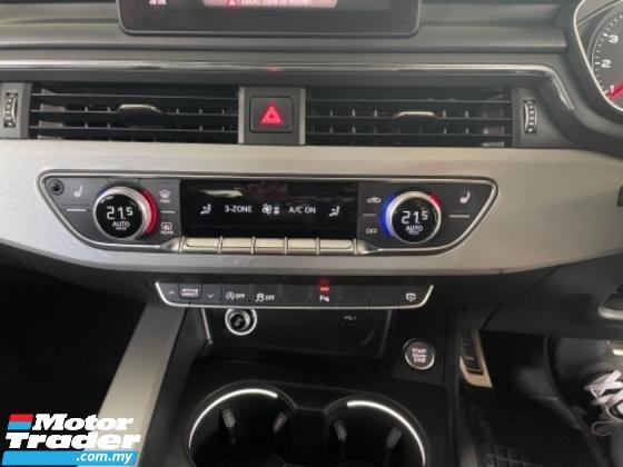 2018 AUDI A5 Unreg Audi A5 2.0 SportBack S Line Turbo Facelift Paddle Shift Push Start Engine