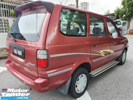2002 TOYOTA UNSER  1.8 GLi (M) 7 SEATED MPV Hari Raya Promotion
