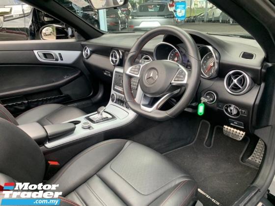 2017 MERCEDES-BENZ SLC SLC300 AMG Convertible Unregister 245hp 9-G Tronic