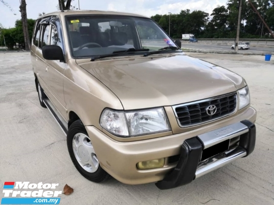 2002 TOYOTA UNSER 1.8 GLi (A) TIPTOP CONDITION 1 OWNER NGV CONVERT