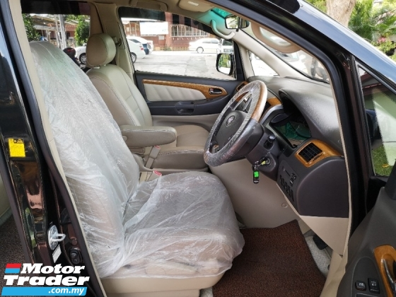 2006 TOYOTA ALPHARD 2.4 Leather Seats 2 PWR/DOOR PWR/BOOT