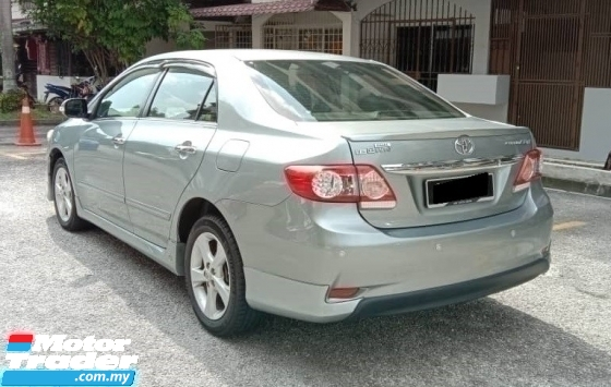 2012 TOYOTA ALTIS 1.8 (A) G SPEC DUAL VVTI NEW FACELIFT FULL SERVICE RECORD DIRECT OWNER