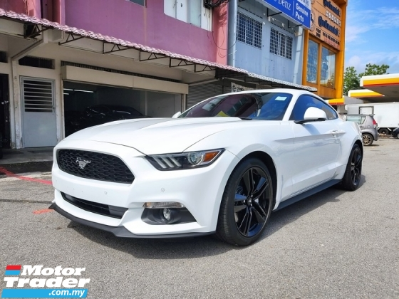 2018 FORD MUSTANG 2.3 ECOBOOST FREE 2 Yrs WARRANTY