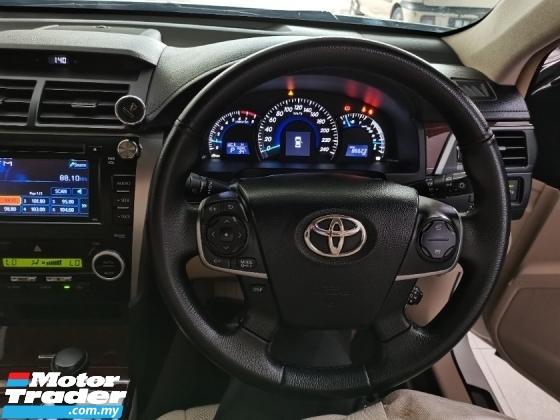 2012 TOYOTA CAMRY  TOYOTA CAMRY 2.5 V SPEC AUTO