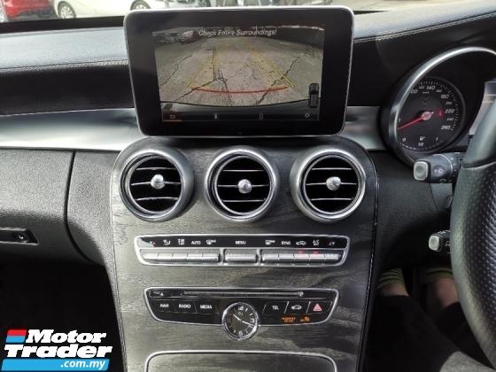 2016 MERCEDES-BENZ C-CLASS Mercedez C200 AMG Wagon with Head Up Display