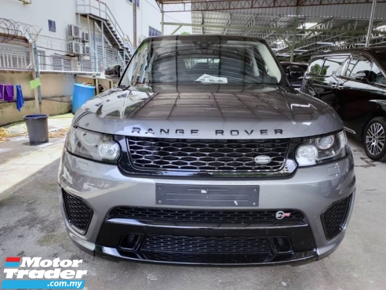 2017 LAND ROVER RANGE ROVER SPORT SVR 5.0 / RR ORI SIDE STEP / READY STOCK NO NEED WAIT / HIGH GRED CONDITION UNIT