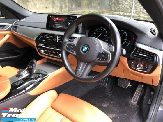 2018 BMW 5 SERIES 530I M-SPORT BROWN INT APPLE CARPLAY MEMORY SEAT