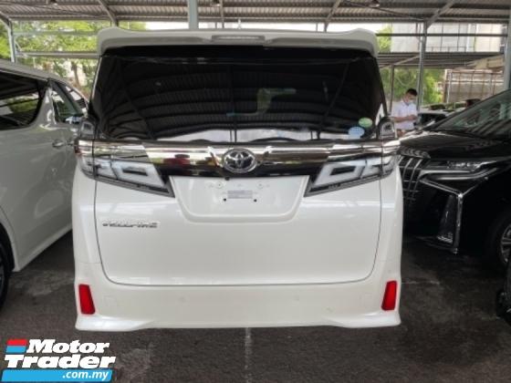 2019 TOYOTA VELLFIRE Unreg Toyota Vellfire ZG Facelift 7Seather 360View Cam 3LED Light Sun Roof Push Start Engine 7Speed