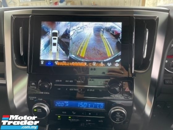 2017 TOYOTA ALPHARD Unreg Toyota Alphard SA 2.5 7Seather 360View Home Theater JBL Sound System Sun Roof Push Start 7G