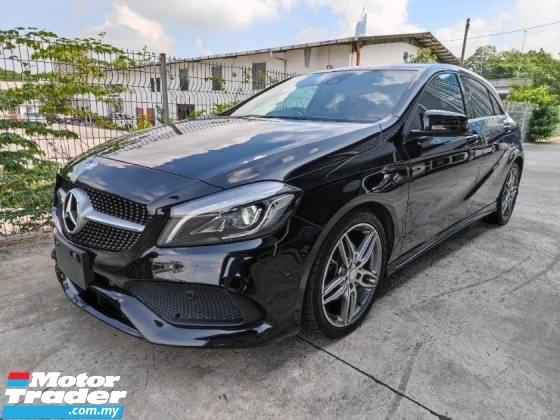 2016 MERCEDES-BENZ A-CLASS A180 AMG New Facelift - Japan Unregistered