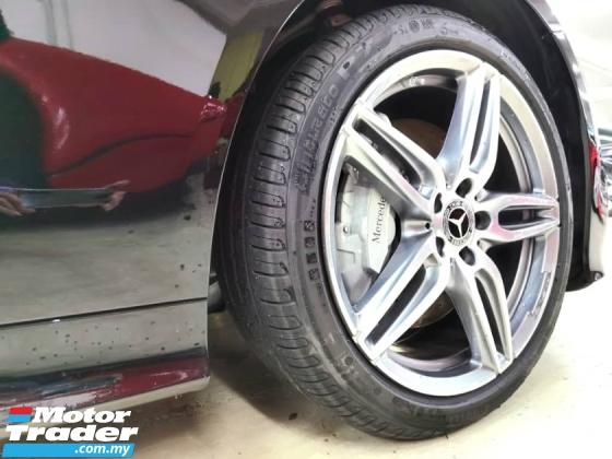 2018 MERCEDES-BENZ E-CLASS E300 COUPE AMG LINE 9 SPEED UNREG