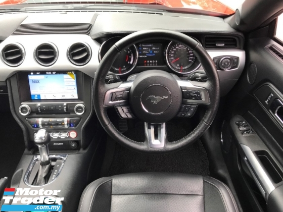 2018 FORD MUSTANG 2.3 ECOBOOST NEW STOCK UNREGISTER