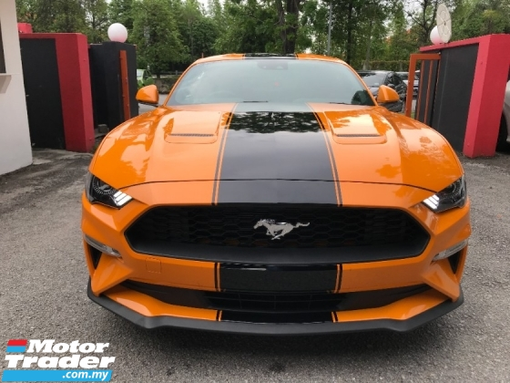 2020 FORD MUSTANG 2.3 ECOBOOST 10 SPEED 8XXX KM NEW STOCK UNREGISTER