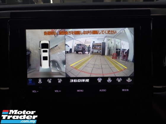 2017 TOYOTA ALPHARD 2.5 SA GRED 5A CONDITION FREE 3 YEARS WARRANTY 360 SURROUND CAMERA POWER BOOT 2 POWER DOOR
