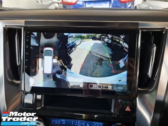 2018 TOYOTA ALPHARD 2.5 SC SUNROOF 360 CAM INC SST UNREG 3 YEARS GMR WARRANTY