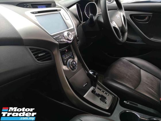 2013 HYUNDAI ELANTRA 2013 Hyundai Elantra 1.6 GLS Sedan