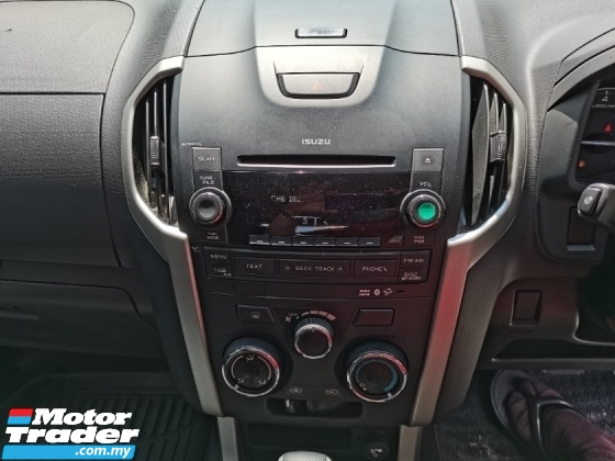 2016 ISUZU D-MAX 2.5L 4X4 DOUBLE CAB
