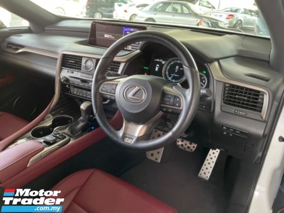 2017 LEXUS RX Unreg Lexus RX200T 2.0 Turbo F Sport Sun Roof HUD Up Display Power Boot Push Start 6Speed