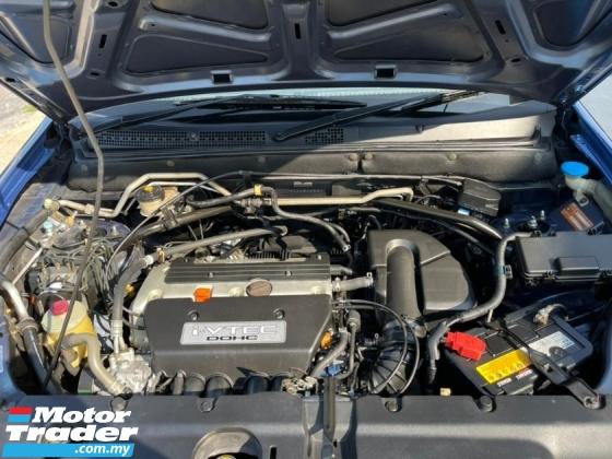 2003 HONDA CR-V 2.0 i-VTEC ONE OWNER ORIGINAL CONDITION