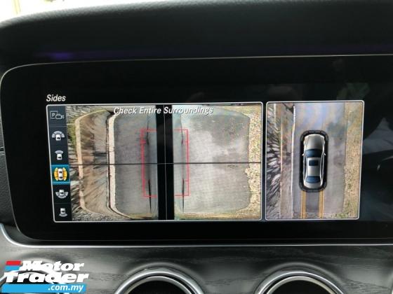2017 MERCEDES-BENZ E-CLASS E200 AMG JAPAN SPEC 360CAM DIGITAL METER BSM PCRAS
