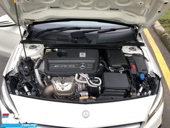 2016 MERCEDES-BENZ A45 AMG 4 MATIC RECARO APPLE CAR PLAY SPORT EXHAUST