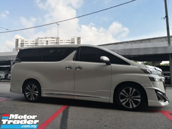 2018 TOYOTA VELLFIRE 2.5 ZG Pilot Seat NEW MODEL CBU UMW Toyota YEAR MADE 2018 Mil 51k km only UMW Warranty to 2024