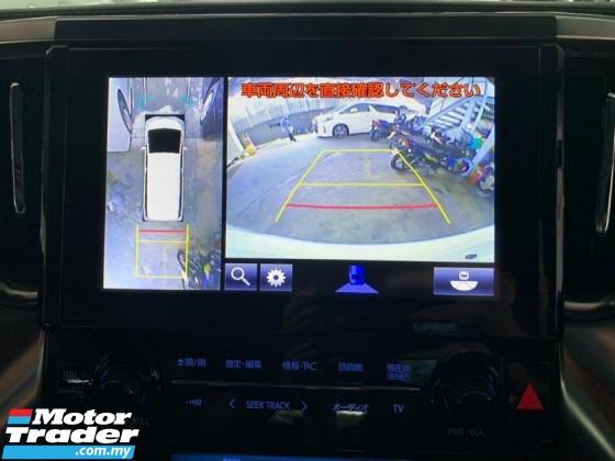 2018 TOYOTA VELLFIRE 2.5 ZG Facelift Full Spec JBL Theater BSM DIM 4.5A