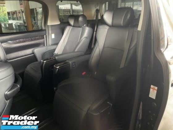 2019 TOYOTA VELLFIRE Unreg Toyota Vellfire ZG Facelift 2.5 360View Cam Power Boot 3LED Light Push Start 7Speed