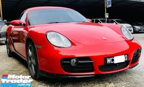 2006 PORSCHE CAYMAN S 3.4 S 987 PSM,FRONT AND BACK CAM, REG 2010 YEAR