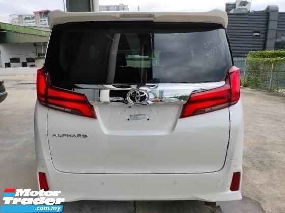 2020 TOYOTA ALPHARD 2.5 SC 3LED Display Audio 255 KM New Car Unregister