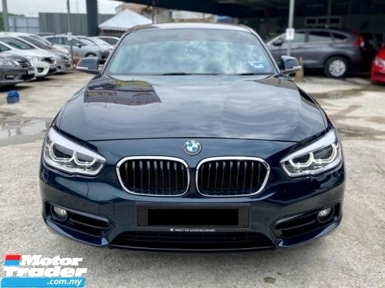 2017 BMW 1 SERIES 118I 1.5 SPORT, FULL SERVICE RECORD, WARRANTY SALE