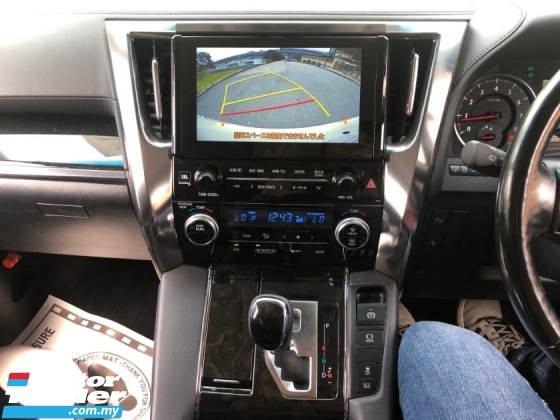 2017 TOYOTA ALPHARD 2.5 SC 3YEARS WARRANTY JBL PRE CRASH AUTO PARKING