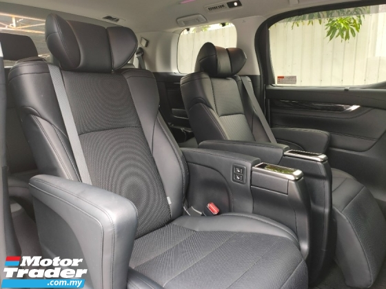 2018 TOYOTA ALPHARD 2.5 SC 2LED PCS LTA Power Boot Pilot Seat Leather Unregister
