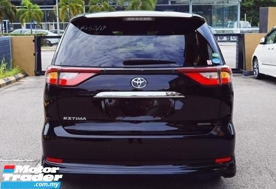 2017 TOYOTA ESTIMA 2017 TOYOTA ESTIMA AERAS PREMIUM G 2.4 JAPAN SPEC UNREG CAR SELLING PRICE ( RM 179000 NEGO ) BLACK