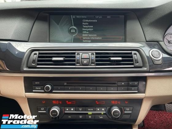2010 BMW 5 SERIES 523I 2.5 (A) NAPPA SEAT NAVI LOCAL F10