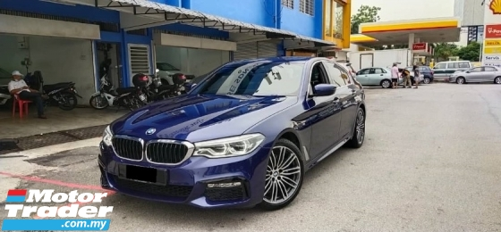2018 BMW 5 SERIES 530i M-SPORT G30 CKD (A) REGISTER 2018