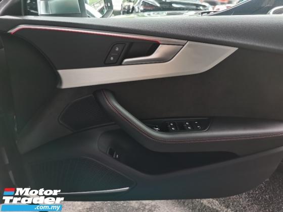 2017 AUDI S5 S5 3.0 V6 TFSI QUATTRO NEW MODEL BANG AND OLUFSEN SOUND 2017 UNREG FREE GMR WARRANTY