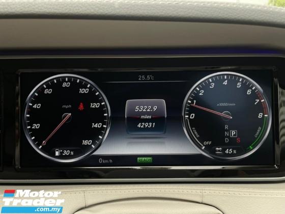 2014 MERCEDES-BENZ S-CLASS S400 3.5 HYBRID