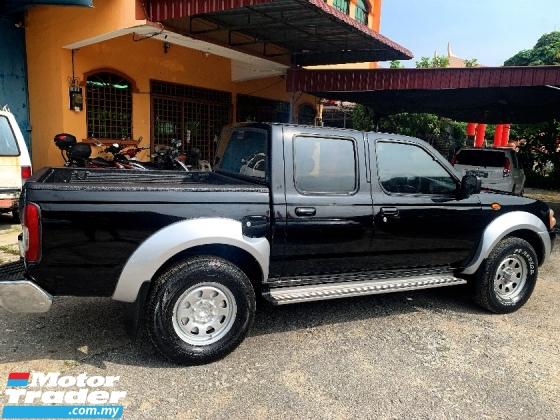 2011 NISSAN FRONTIER 2.5 Gran Road Pickup Truck 4x4 PREMIUM(MANUAL)FREE MOTORSIKAL BARU+CASHBACK 1K+BELI PANDU DULU 2 BUL