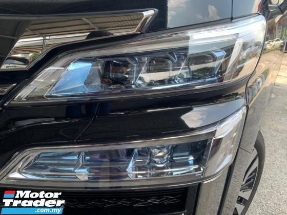 2018 TOYOTA VELLFIRE 2.5 ZG Facelift Leather Seat 3LED Sunroof 4Camera