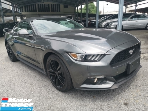 2017 FORD MUSTANG 2.3 Eco Boost Bose Sound Unregister Recon