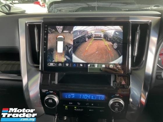 2019 TOYOTA ALPHARD Unreg Toyota Alphard SC 2.5 7Seats 360V Sun Roof 3LED Light DIM System Push Start 7Speed