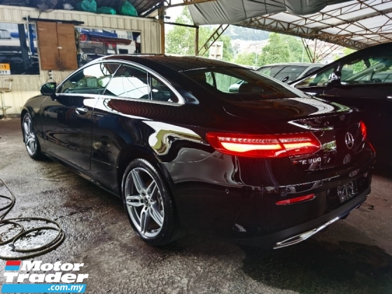2017 MERCEDES-BENZ E-CLASS E300 COUPE AMG PREMIUM PANORAMIC ROOF POWER BOOTH PARKING CAMERA 2017 UNREG LIKE NEW CAR FREE GMR