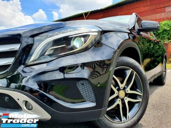 2015 MERCEDES-BENZ GLA 1.6 CGI LADY OWNER WARRANTY PROVIDED EXCELLENT CAR