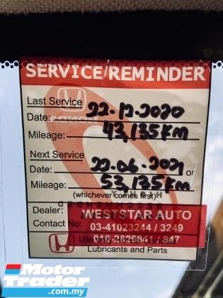 2015 HONDA CR-V 2.0 4WD (A) F/SERVICES MIL 45k