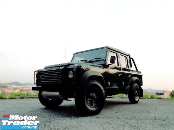 2013 LAND ROVER DEFENDER 2.2 (M) 6 SPEED 110 DOUBLE CAP GOOD CONDITION