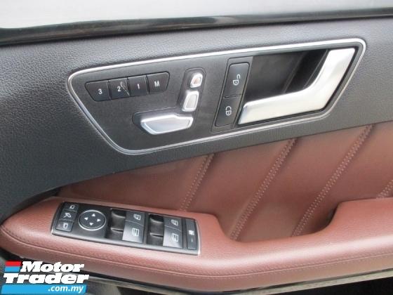 2014 MERCEDES-BENZ E-CLASS E200 CGI Facelift (A) W212C F/S/Record