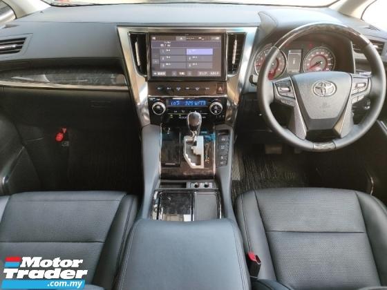 2019 TOYOTA ALPHARD 2.5 SC 3LED BSM DIM PCS LTA Pilot Seat Leather PB Unregister